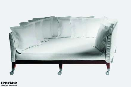 Итальянская мебель Driade - Диван глубокий на колесах