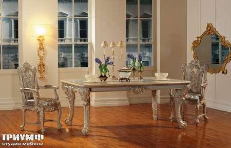 Итальянская мебель Silik - Стол на 4-х ножках Alexandra