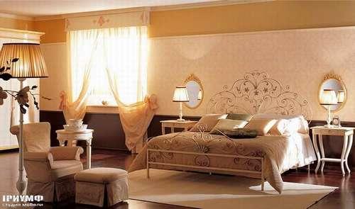 Итальянская мебель Giusti Portos - Спальня с кованым изголовьем Fiordaliso1