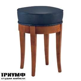 Итальянская мебель Morelato - Табурет сидение в коже кол. Biedermeier
