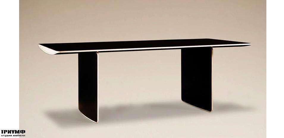 Итальянская мебель Morelato - Стол на двух декоративных ногах