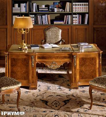 Итальянская мебель Colombo Mobili - Рабочий стол арт.372.220 кол. Carissimi