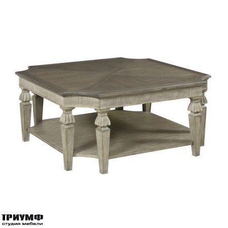 Американская мебель Hammary - DOROTHEA SQUARE COCKTAIL TABLE