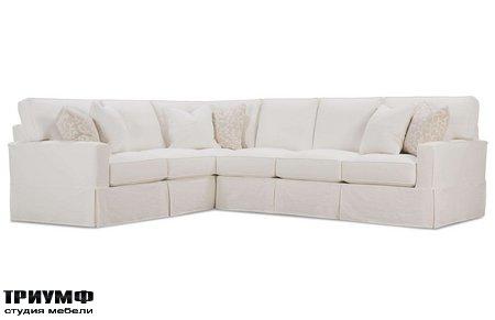 Американская мебель Rowe - Easton Track Arm Sectional Sofa