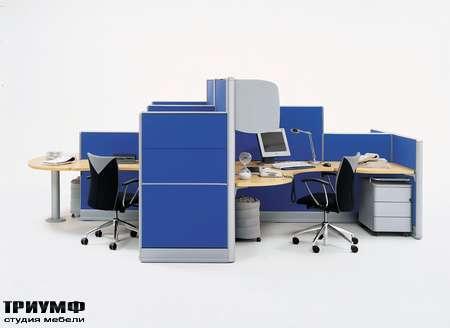Итальянская мебель Frezza - Объединенные рабочие места, коллекция Areaplan