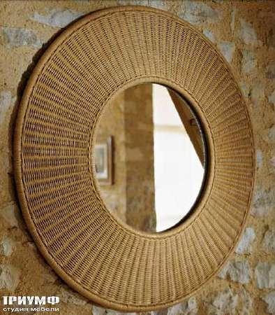Итальянская мебель Varaschin - Зеркало Zaffran круглое