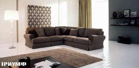 Итальянская мебель Valmori - диван Capri в ткани или коже