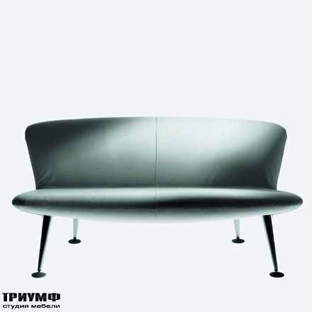 Итальянская мебель Driade - Диван без подлокотников, дизайнер Карло Коломбо