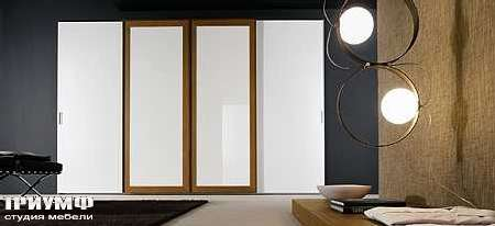 Итальянская мебель Map - Шкаф Inside Quadro раздвижные двери в рамке