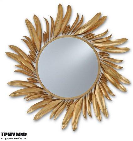 Американская мебель Currey and Company - Folium Mirror
