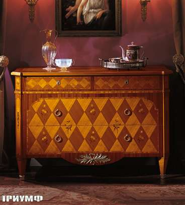 Итальянская мебель Colombo Mobili - Комод арт.189 кол. Donizetti