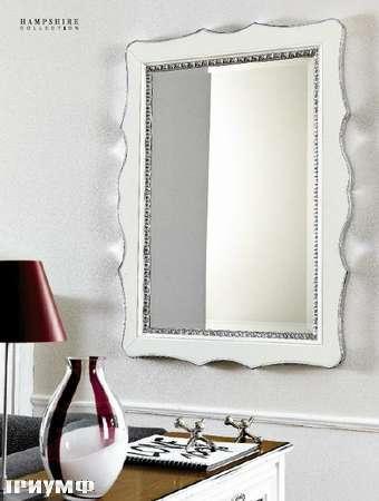 Итальянская мебель Flai - зеркало в крашенном дереве и серебре, возможно разные размеры