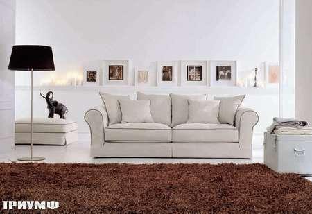 Итальянская мебель Valmori - диван Cortina с простежкой