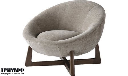 Американская мебель Baker - Pod Lounge Chair