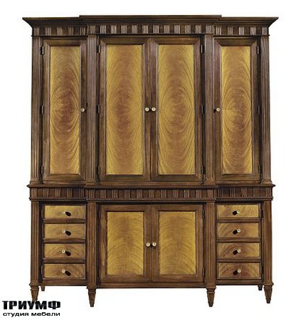 Американская мебель Hickory Chair - Drake Cabinet Deck & Base