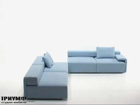 Итальянская мебель Futura - Диван угловой, трансформируемый Infinito