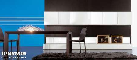 Итальянская мебель Pianca - Стенка лаковая, композиция People 7