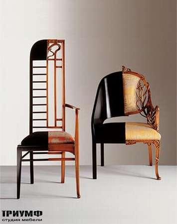 Итальянская мебель Medea - Стул дизайнерский соединенный из двух моделей арт. 171