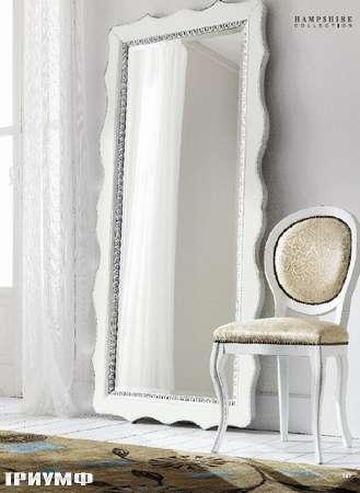 Итальянская мебель Flai - зеркало напольное в крашенном дереве