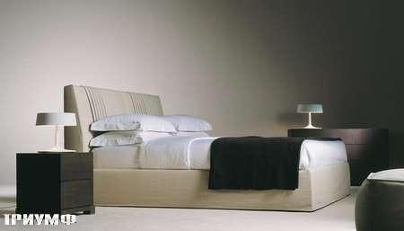 Итальянская мебель Meridiani - кровать Andrews в ткани
