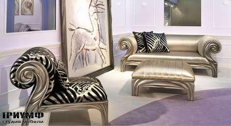 Итальянская мебель BM Style - Contemporary Living  диван, кресло, пуф