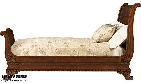 Американская мебель Baker - Sleigh Bed (King)
