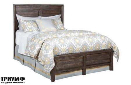 Американская мебель Kincaid - BORDERS PANEL KING BED