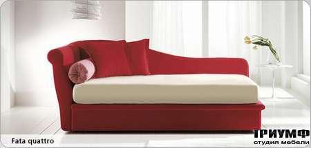 Итальянская мебель Bonaldo - кровать односпальная Fata quatto