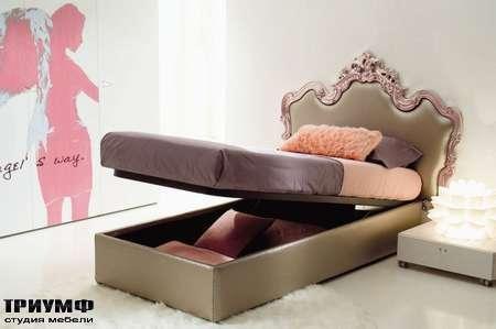 Итальянская мебель Di Liddo & Perego - Кровать Chic, с подъемным механизмом