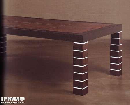 Итальянская мебель Rugiano - Стол Master прямоугольный