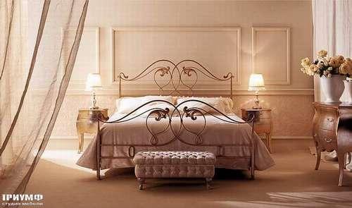 Итальянская мебель Giusti Portos - Спальня с изножием Myrtus