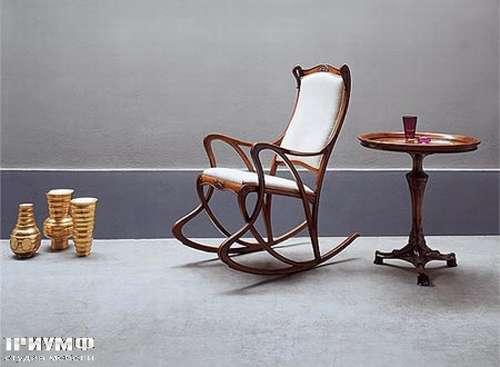 Итальянская мебель Medea - Кресло-качалка коллекция Liberty, ручная работа