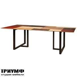 Итальянская мебель Morelato - Стол с комбинированным топом