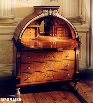 Итальянская мебель Colombo Mobili - Секретер стиль Бидермайер арт.358 кол. Paradisi