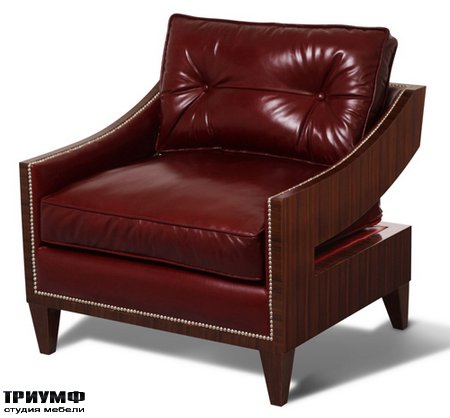 Американская мебель Scarborough House - SH29 112911R BU Lounge Chair
