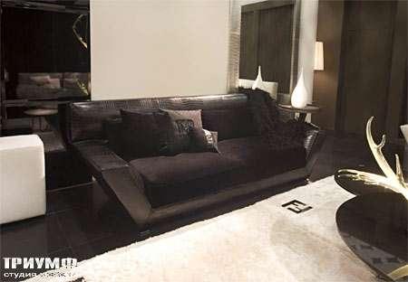 Итальянская мебель Fendi Casa - Диван 3-х местный Orient Expres