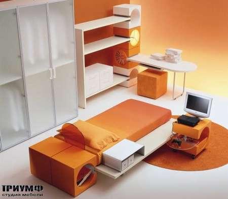 Итальянская мебель Di Liddo & Perego - Кровать детская Cubik