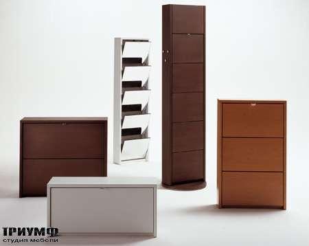 Итальянская мебель Longhi - Полка под обувь Domino
