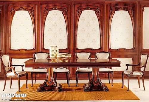 Итальянская мебель Medea - Стол прямоугольный двух тумбовый из дерева