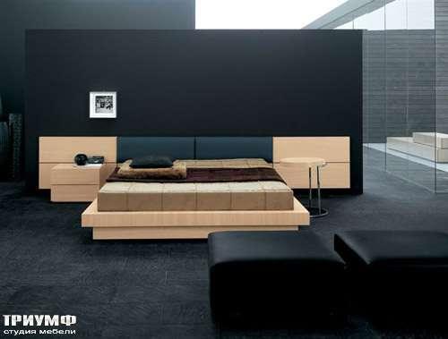 Итальянская мебель Pianca - Кровать People с подъёмным механизмом