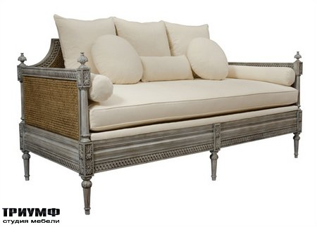 Американская мебель Currey and Company - Luxembourg Daybed