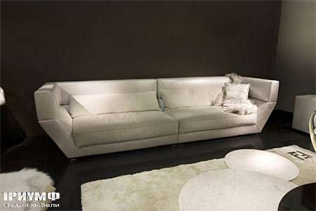Итальянская мебель Fendi Casa - Диван в коже Orient Expres