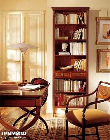 Итальянская мебель Medea - Стеллаж для книг, открытый с ящиком