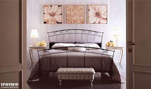 Двуспальная кованая кровать Opla