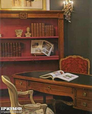 Итальянская мебель Salda - Стелаж для книг  cod: 8526 / сто рабочий cod - 8073