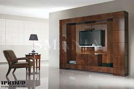 Итальянская мебель Smania - Стенка под ТВ, Biblo maxi TV в лаке