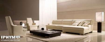 Итальянская мебель CTS Salotti - Диван современный с лежанкой, модель Grande soiree
