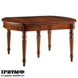 Итальянская мебель Morelato - Овальный стол на 4-х ногах