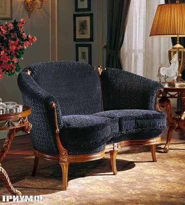 Итальянская мебель Colombo Mobili - Диван 2х местный арт.272 кол. Mascagni