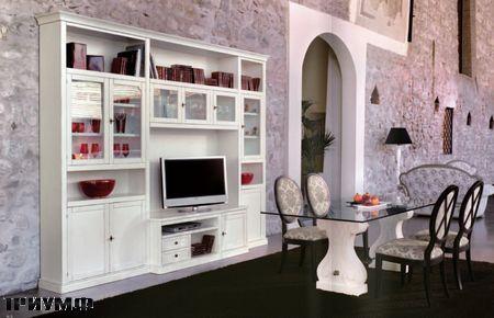 Итальянская мебель Tonin casa - стенка под тв и стол